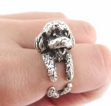 Vogue Retro Animal Ring Twelve Dog Ring Men Wedding Bands Wedding