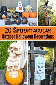 best 20 spooktacular outdoor halloween decorations simple sojourns