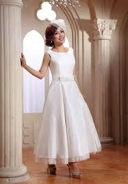 tea length wedding dresses for older brides dresses trend