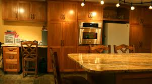 span new what is the height of the upper cabinets kitchen
