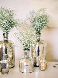 Artificial Flowers In Vase Wholesale Diy Mercury Glass Centerpiece Vases For Your Rustic Chic Wedding