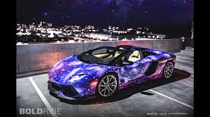 lamborghini purple galaxy lamborghini aventador roadster