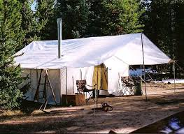 Wall Tent | canvas wall tent winter tents davis tent awning