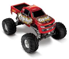 monster jam rc truck the enigma behind traxxas grinder advance auto 2wd monster truck