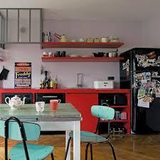 cuisine retro vintage cuisine vintage lui donner un style pop aqua chair cuisine