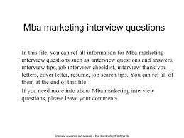 mba marketing interview questions 1 638 jpg cb u003d1402648388