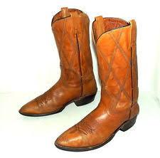 womens boots size 9 5 narrow acme cowboy boots ebay