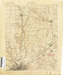Map Of Dayton Ohio Ohio Historical Topographic Maps Perry Castañeda Map Collection