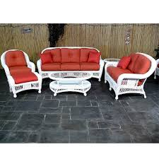 Wicker Style Outdoor Furniture by St Lucia Deep Seating Wicker Patio Furniture By Chicago Wicker