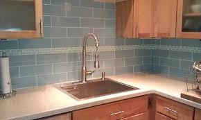 How To Install Subway Tile Kitchen Backsplash by Gray Glass Subway Tile In Fog Bank Modwalls Lush 4x12 Tile