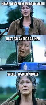 Carol Twd Meme - 487 best the walking dead funny memes season 6 images on pinterest