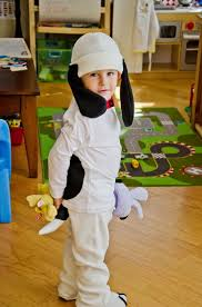 snoopy costume how to make a snoopy costume