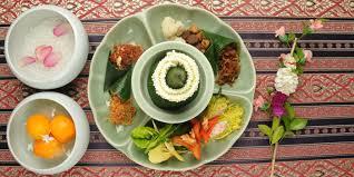 cha e cuisine celadon s signature khao chae at celadon great gastro