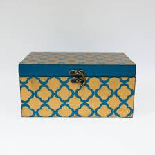 Yellow Decorative Box Decorative Accessories Home Accents Carolina Pottery