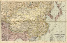 Map Of China And India by Stanford U0027s Map Of The Empires Of China And Japan With The Adjacent
