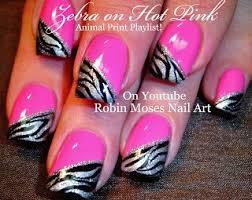 best 20 pink zebra nails ideas on pinterest zebra nail designs