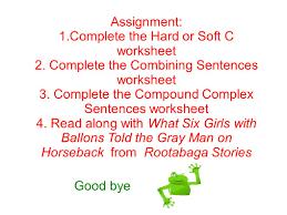 Declarative And Interrogative Sentences Worksheets Compound And Complex Sentences Ppt Download