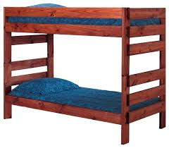 Jericho Extra Long Bunk Bed Transitional Bunk Beds By - Extra long bunk bed