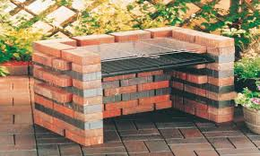easy outdoor fire pit diy brick bbq grill designs brick bbq pits