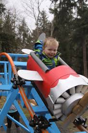 navy pilot creates ultimate thrill in backyard for son a roller