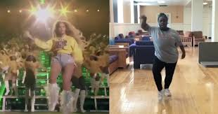 Bands Will Make Her Dance Meme - woman memorized beyoncé s coachella choreography twitter reacts