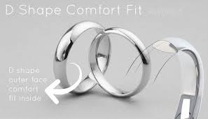 comfort fit ring what is a low dome wedding ring a guide to domed wedding rings