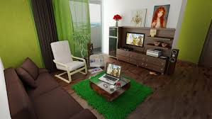 Green Chairs For Living Room Living Room Breathtaking Green Brown Modern Living Room Ideas