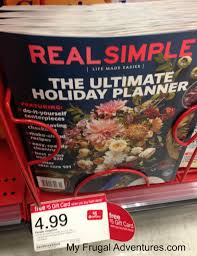 target real simple and people magazine 10 each my frugal
