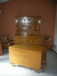 1950 u0027s vintage solid maple willett lancaster county hutch dining