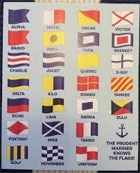 Flag Signals Meaning Acrylic Nautical Signal Flag
