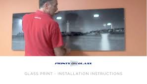 How To Hang A Canvas How To Hang A Wall Print Prints On Glass Youtube