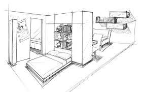 comment dessiner une chambre une chambre dessin solutions pour la décoration intérieure de