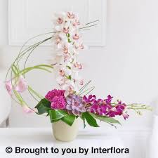 Calla Lily Flower Delivery - exotic orchid and calla lily arrangement booker flowers and gifts