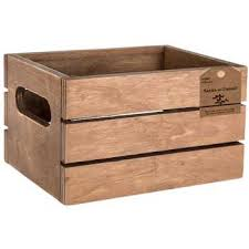 wood crate with cut out handles hobby lobby 1076637