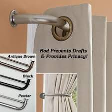 Double Rod Curtain Hardware French Return Double Rod Sets 1