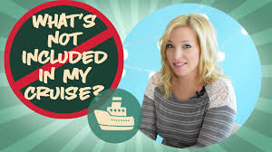 Whats Included What U0027s Not Included In My Cruise Youtube