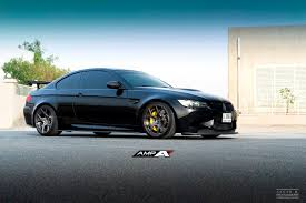 murdered rolls royce murdered out bmw e92 m3 on amp 55 wheels