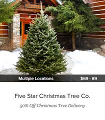 christmas tree delivery 65 fresh cut real fraser fir christmas tree 49 orig 140