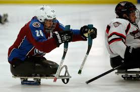 League For The Blind And Disabled San Jose Sharks Facility Hosts 2017 Disabled Hockey Festival