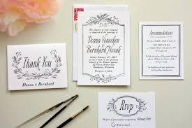 wedding invitations maker white wedding invitations with black type wedding invitation