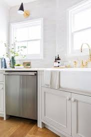 classic kitchen with subway tile kabinart cabinetry is mission