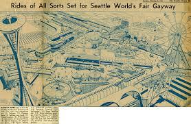 1964 World S Fair Map by Century 21 1962 Seattle World U0027s Fair Main Page