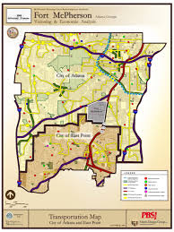 City Of Atlanta Map by Maps