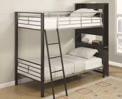 Bunk Bed Headboard Bunk Bed With Bookshelf Headboard And Roll Out Table By Coaster