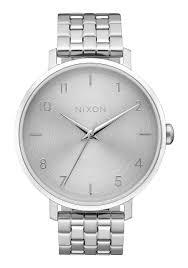 Silver Accessories Arrow Women U0027s Watches Nixon Watches And Premium Accessories
