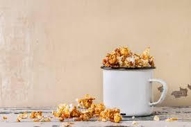 easy caramel popcorn recipe for kids