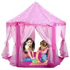 amazon com ladyker play tents for kids indoor outdoor large 55 x