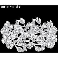 bracelet luxury crystal images Mecresh luxury crystal wedding bracelets bangles for women jpg