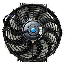 electric radiator fans amazon com upgr8 universal high performance 12v slim electric