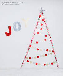 diy christmas trees alternative ideas for decor and photo